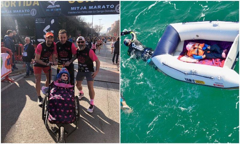 El próximo desafío de Berta: Infinitri Half Triathlon Peñíscola