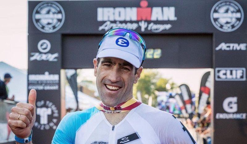 Eneko Llanos competirá en el Ironman de Vitoria