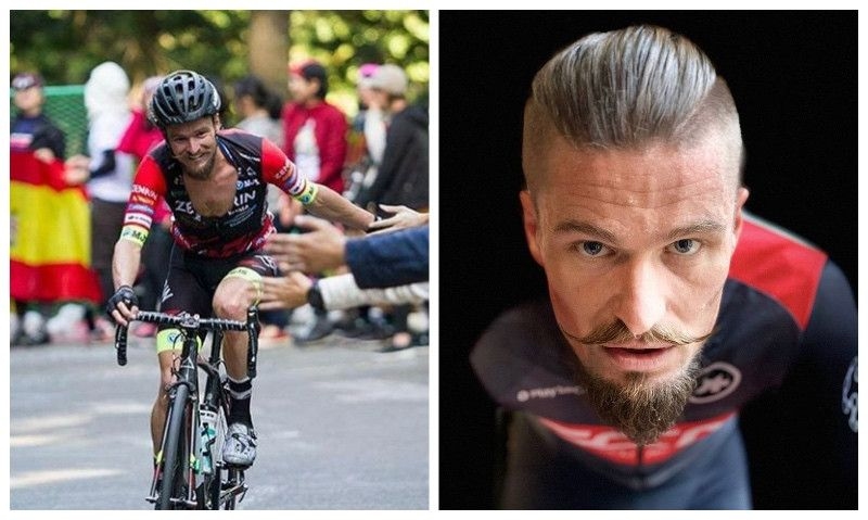 El ex ciclista profesional Óscar Pujol también se hace triatleta