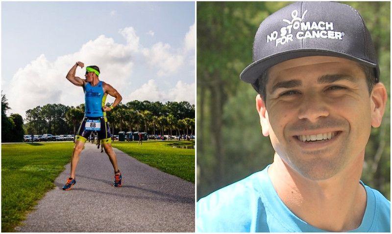 Prueba superada: el triatleta 'sin estómago' acaba el Ironman 70.3 de Florida
