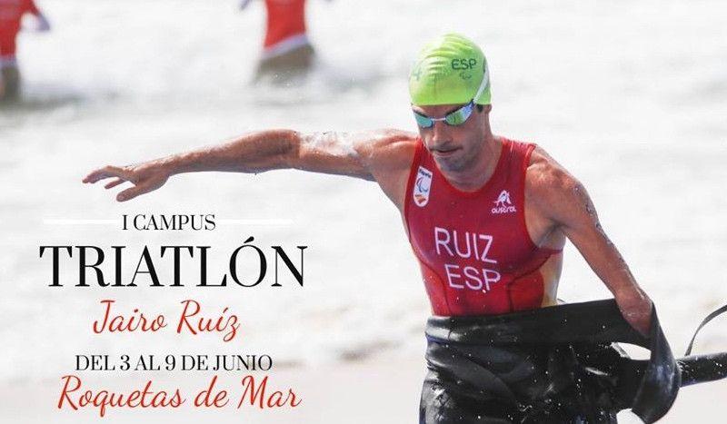 ¿Quieres llegar 'a tope' al CTO de España de Triatlón Sprint? Jairo Ruiz te espera en su Campus