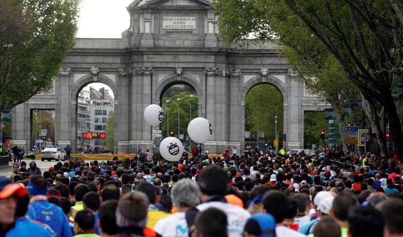 El maratón preelectoral de Madrid reunirá a 33.265 corredores