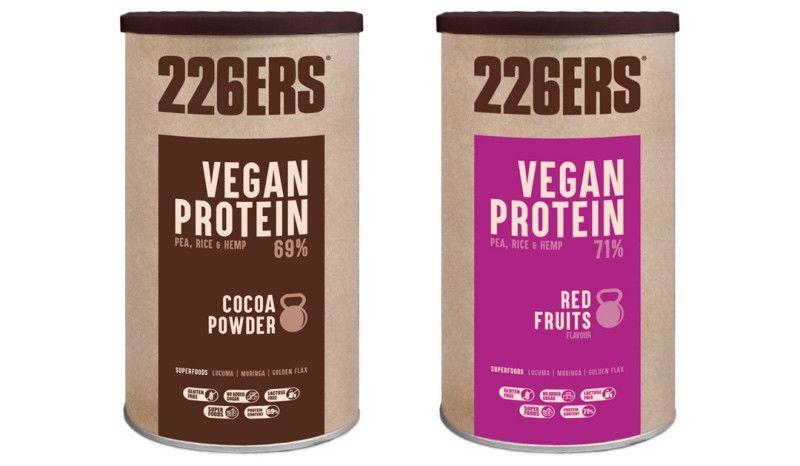 226ERS presenta Vegan Protein, un producto completamente vegetal