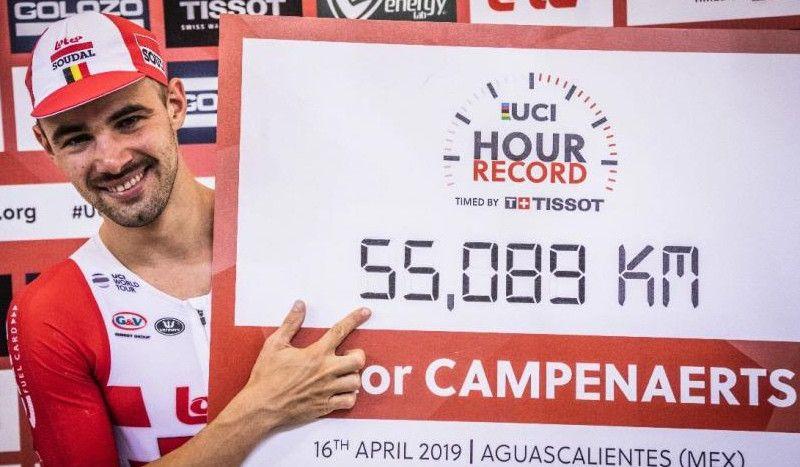 Victor Campenaerts: de triatleta... a recordman de la hora