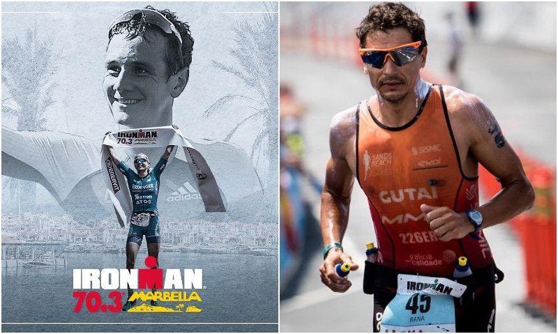 Duelo de leyendas en el Ironman 70.3 Marbella: Alistair Brownlee vs Iván Raña
