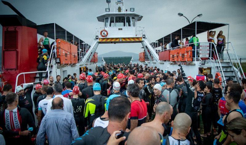 El Triatlón de Carminha acoge el Campeonato Ibérico de Media Distancia