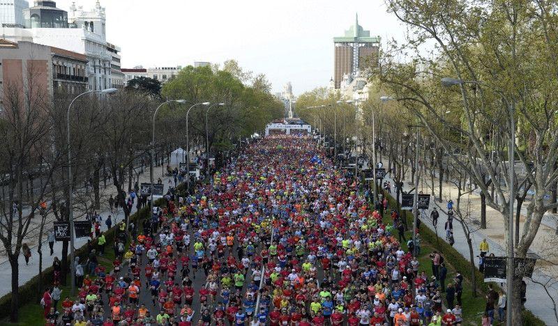 Maratoniana jornada de reflexión para 33.265 corredores en Madrid