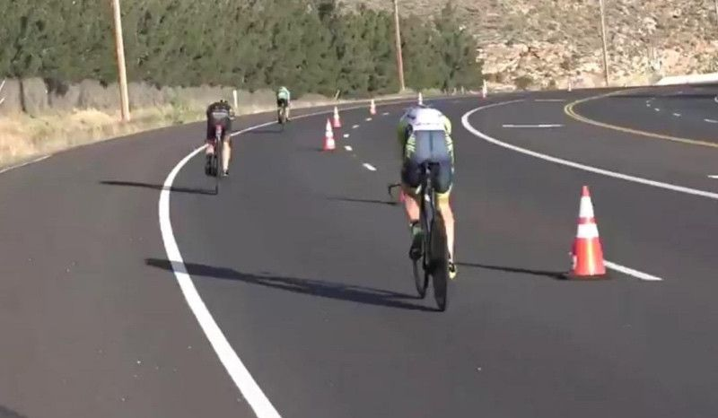 (VÍDEO) Sebastian Kienle, sancionado por drafting en el Ironman 70.3 St. George