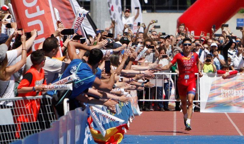 Pontevedra se lanza a por la Gran Final de las Series Mundiales de Triatlón