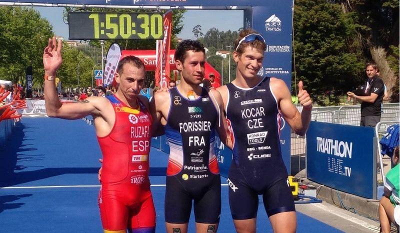 Ruzafa se proclama subcampeón del mundo de Triatlón Cross en Pontevedra