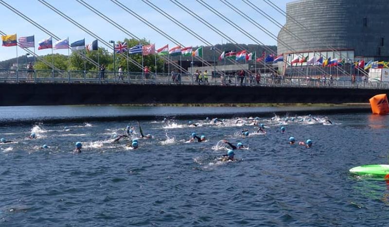 Sólo se nadarán 1.500 m en el Mundial de LD, pese a las quejas de Noya y Dapena