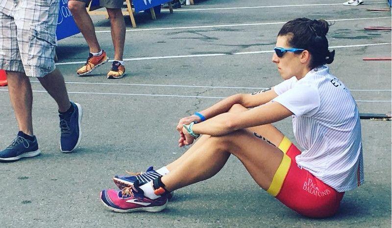 "Hoy entrenamos con Sonia Bejarano: ""Seguramente sea carne de cañón de Ironman"""
