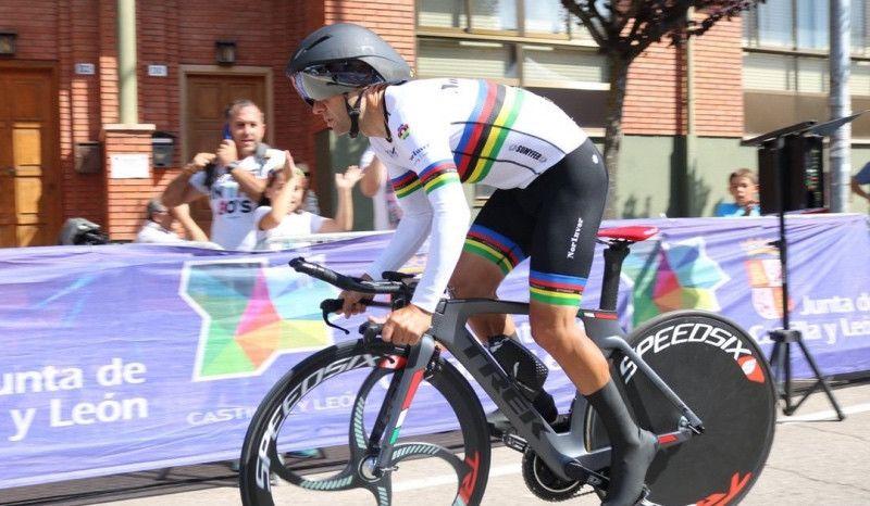 Sancionado por dopaje el ciclista español Raúl Portillo, campeón del mundo máster 40