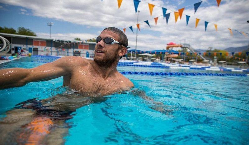 La lección aprendida de Lionel Sanders en la natación de la que deberías tomar nota