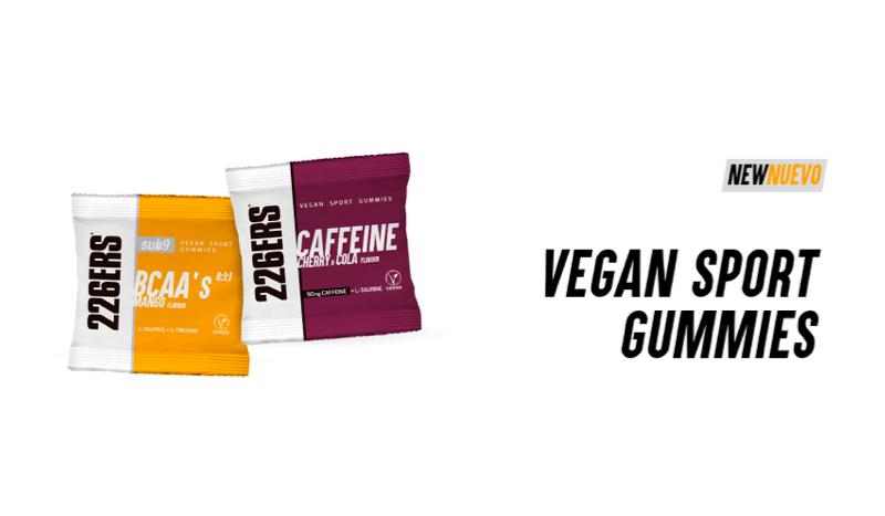 226ERS presenta las nuevas Vegan Sport Gummies
