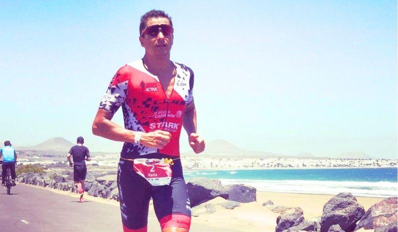 Retirada forzosa de Iván Raña en el Ironman de Lanzarote