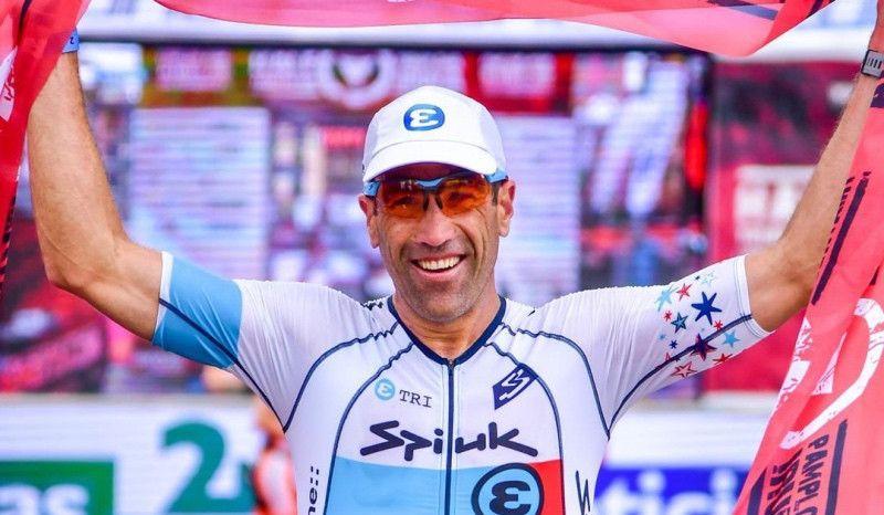 (VÍDEO) Así fue la victoria de Eneko Llanos en el Half Triathlon Pamplona