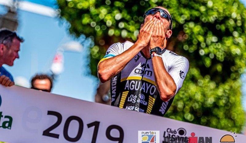 """Emilio Aguayo: """"Pasé 9 horas disfrutando como nunca del triatlón; me he enamorado de esta distancia"""""""