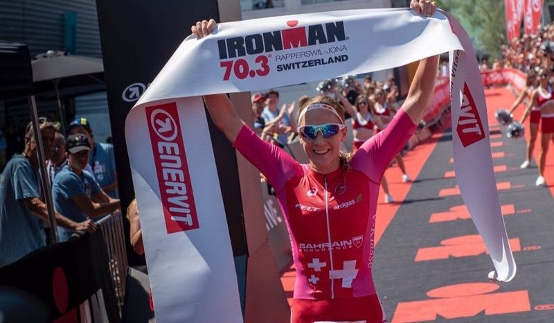Daniela Ryf, implacable: sexta victoria consecutiva en el Ironman 70.3 de Suiza