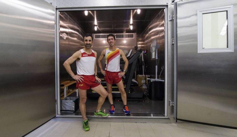 El 'horno' gigante del Ejército donde se entrenan los atletas para el Mundial de Qatar