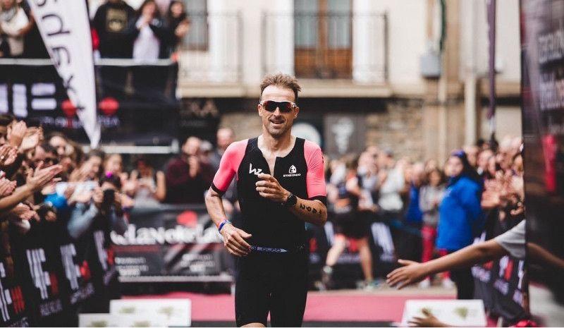 Así fue el debut de Haimar Zubeldia en el Triatlón de Zarautz