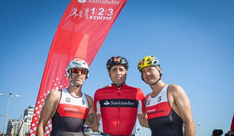 Miguel Indurain competirá en el Santander Triatlón de Madrid