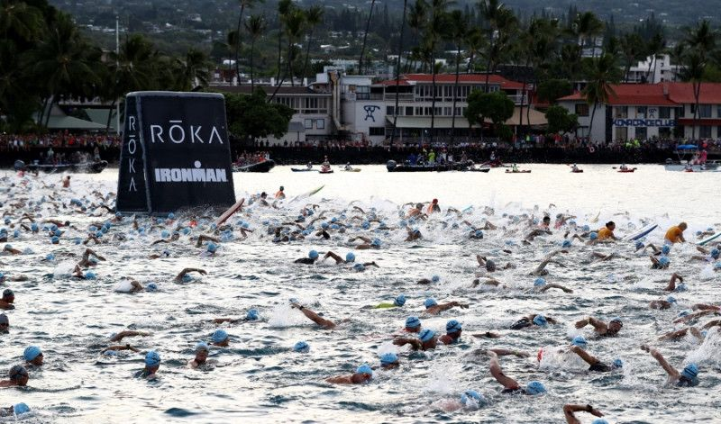 Ironman pone fin a la salida masiva del Mundial de Kona