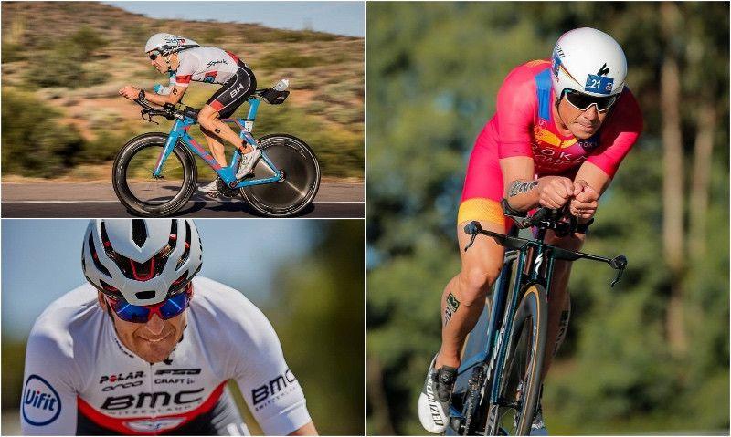 Noya, Eneko Llanos y Pablo Dapena, a por el triplete en el Europeo Ironman 70.3