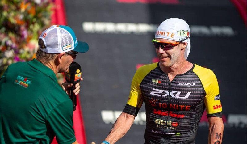 El nuevo desafío de Cameron Brown: quiere hacer sub8 en Ironman con 47 años