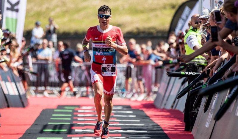 Javier Gómez Noya, a 11 segundos de la victoria en el Europeo Ironman 70.3