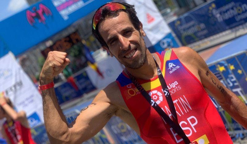 Emilio Martín se proclama subcampeón de Europa en Rumanía