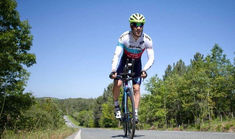 La 'kilometrada' (bici+carrera) de Eneko Llanos a 15 días del Ironman de Vitoria