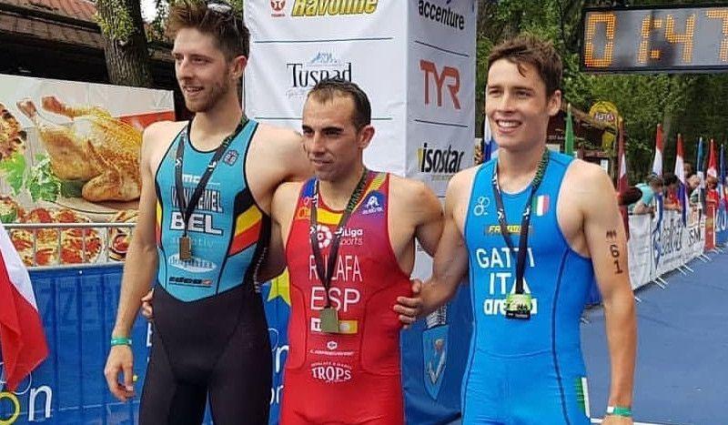 Rubén Ruzafa se proclama campeón de Europa de Triatlón Cross en Rumanía