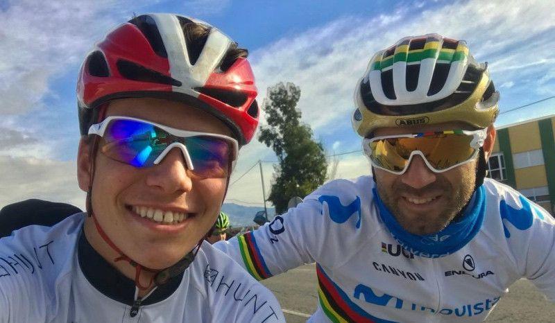 Sergio Baxter: de entrenar con Alejandro Valverde... a estudiar 'en casa' de los Brownlee
