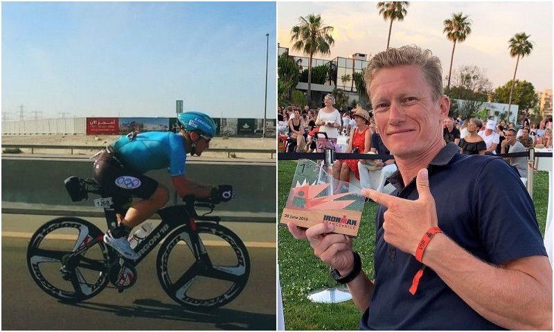 (VÍDEO) Vinokurov gana el Ironman de Niza en su grupo y acaba 17º de la general