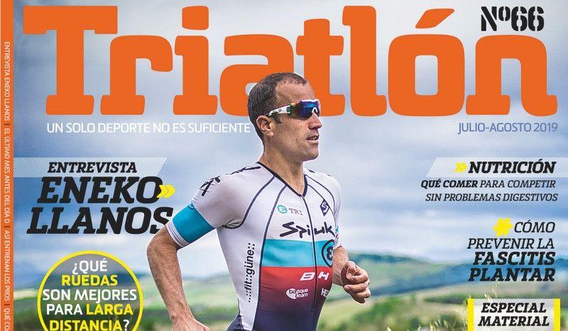 ¡Ya está a la venta el número 66 de la Revista Triatlón!