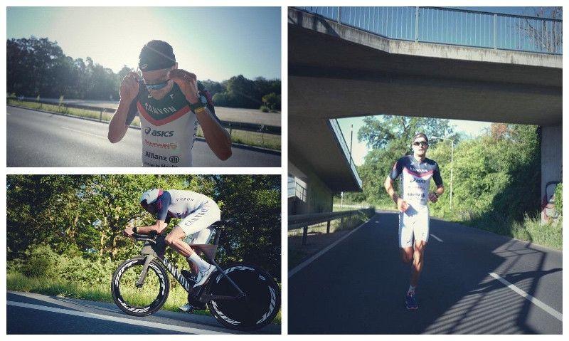 La sesión de activación de Jan Frodeno antes del Ironman de Frankfurt