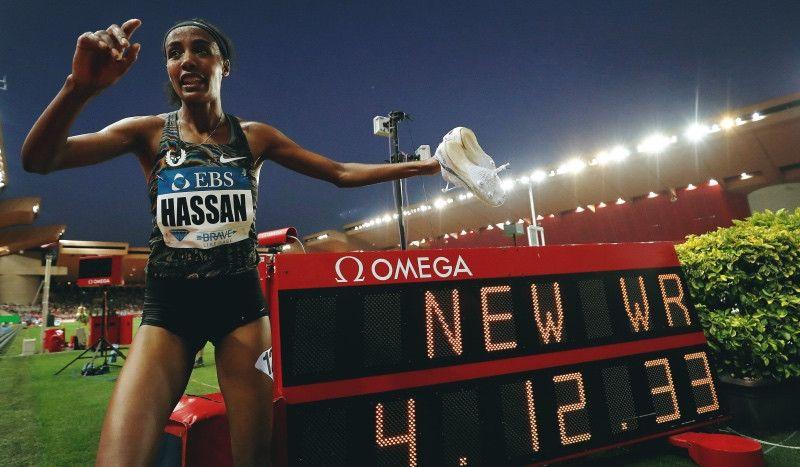 Sifan Hassan bate el récord del mundo de la milla y se consagra como la 'reina' del medio fondo