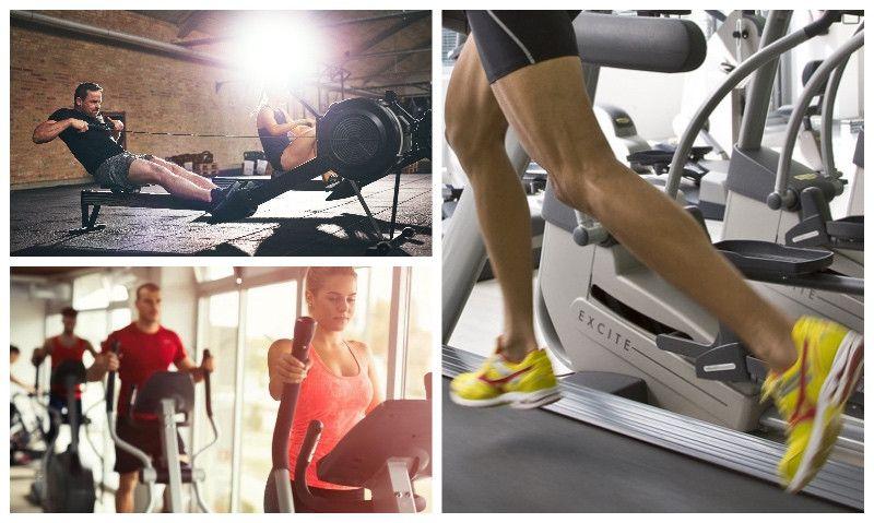¿Qué debe hacer el triatleta en el gimnasio: cinta de correr, elíptica o máquina de remo?