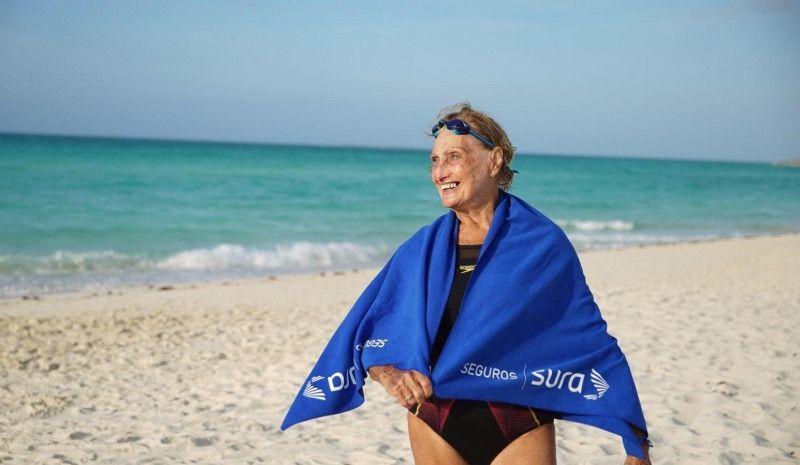 Margarita Kemayd o cómo seguir nadando por medallas a los 80 años