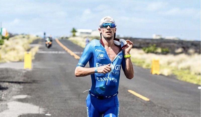 (VÍDEO) Así se avitualla el campeón del mundo Ironman... en 25 segundos