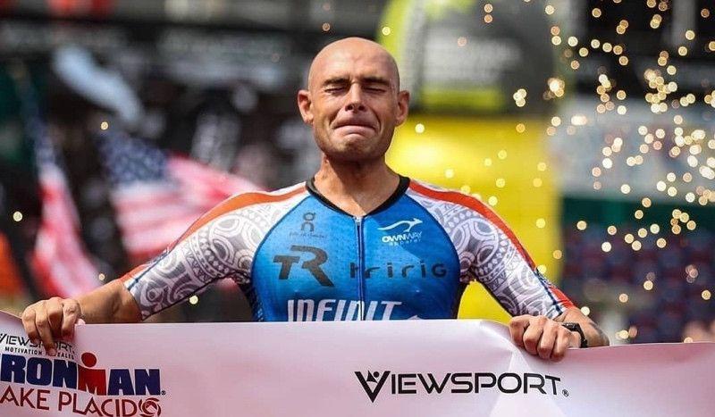 Matt Russell culmina su epopeya: gana un Ironman tras su gravísimo accidente en Kona