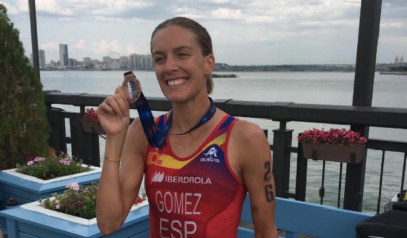 Tamara Gómez, bronce en el Campeonato de Europa de Triatlón Sprint