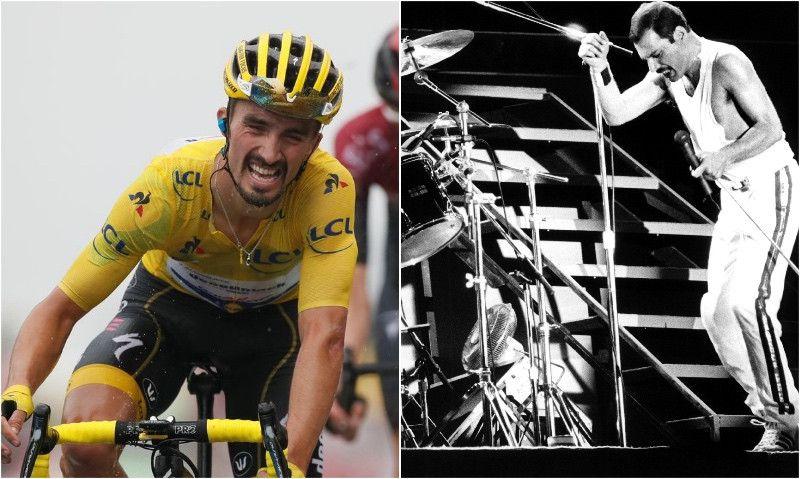 El Tour y los Alpes inspiraron a Freddie Mercury para 'Bicycle Race'