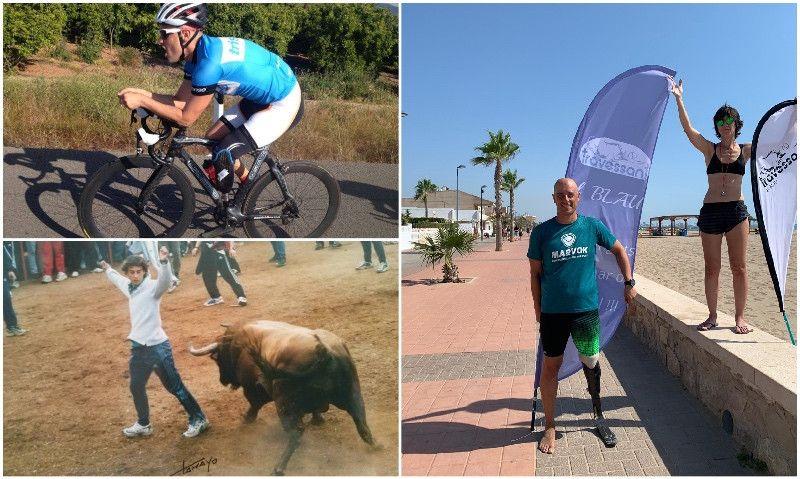 De recortador de toros (amputado de una pierna)... a campeón de Europa de Triatlón