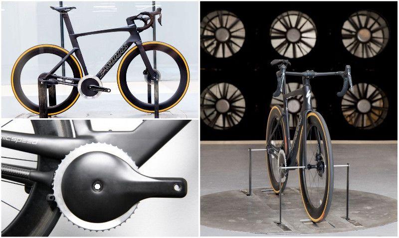 La 'bici sin cadena' pasa con nota las pruebas en el túnel del viento