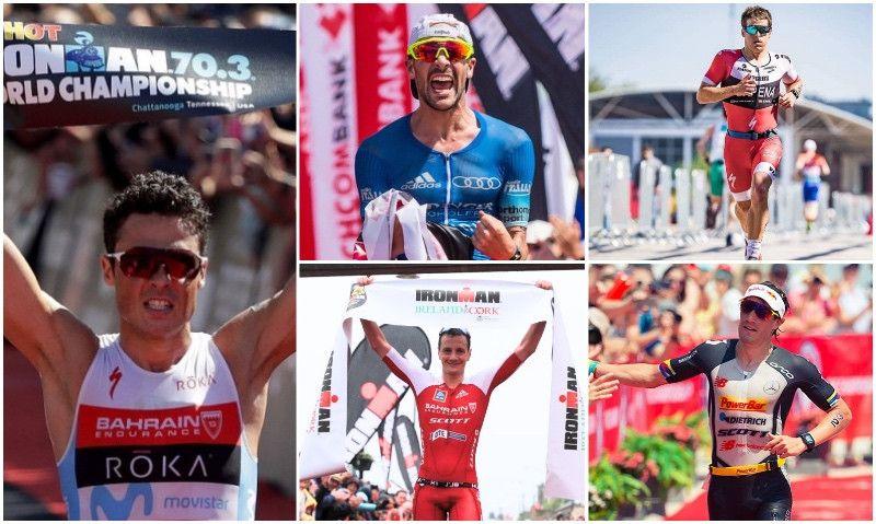 La lista PRO del Mundial Ironman 70.3: Gómez Noya contra todos