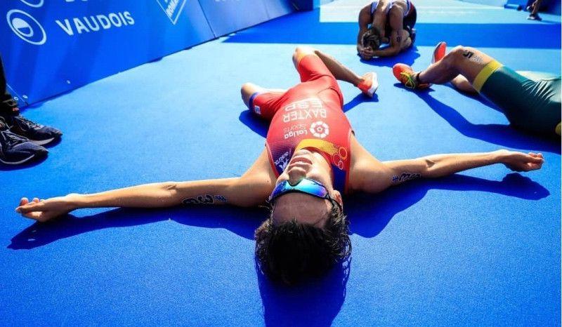 Sergio Baxter se sube al podio del Mundial Junior en Lausana