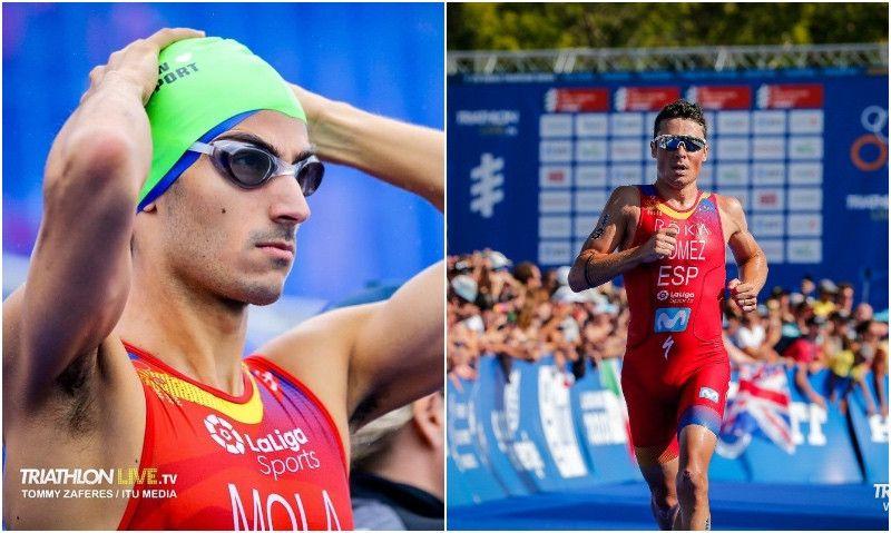 Gómez Noya suma su 11ª medalla mundialista; Mario Mola lleva 7 consecutivas