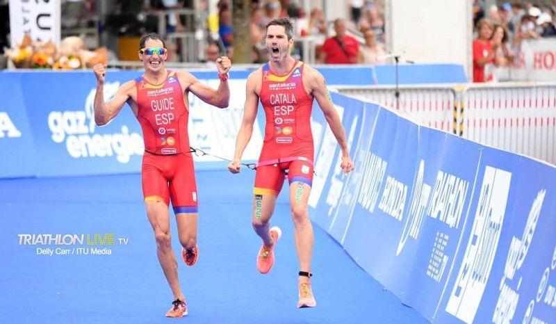 La 'ParaTriarmada' conquista tres oros y un bronce en el Mundial de Lausana